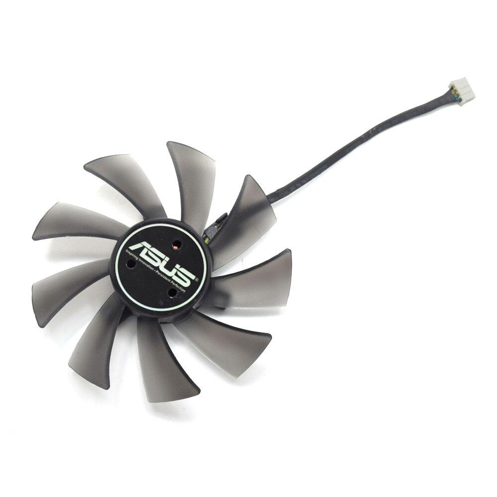 T129025SU 95mm 4Pin DC12V 0.38AMP ventilador para Asus Radeon HD7970 directa CU II HD7950 DirectCU II tarjeta de Video de refrigeración