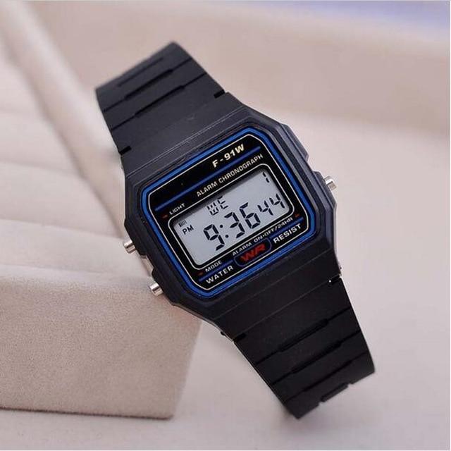 Relojes Luxury New Brand Design LED Watch Men Women Cheap Fashion Electronic Digital Sport Watches Life Waterproof Wristwatches