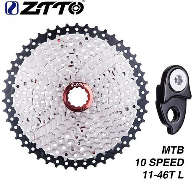 ZTTO Freewheel 11-46T 10 Speed 10s Wide Ratio MTB Mountain Bike Bicycle Cassette Sprockets For Parts M590 M6000 M610 M780ZTTO Freewheel 11-46T 10 Speed 10s Wide Ratio MTB Mountain Bike Bicycle Cassette Sprockets For Parts M590 M6000 M610 M780