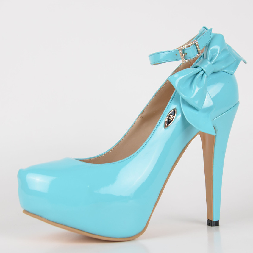 Online Buy Wholesale light blue high heels from China light blue ...