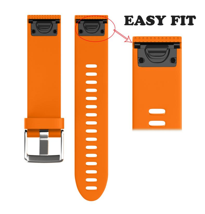 CARPRIE Smart Accessories wrist strap For Garmin Fenix 5S GPS Watch Replacement Silica gel Soft Quick Release Kit Band Strap D14