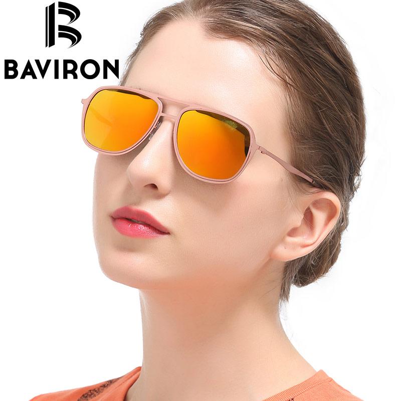 משקפי שמש טייס קלאסי BAVIRON שיקוף משקפי - אבזרי ביגוד