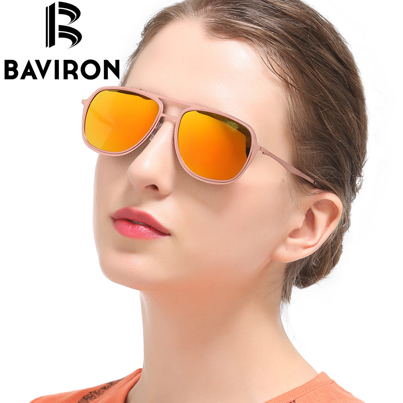 BAVIRON Kacamata Percontohan Klasik Lelaki Cermin Kacamata Mengemudi - Aksesori pakaian - Foto 1