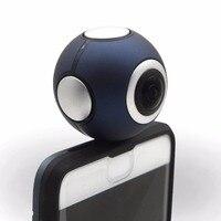 720 grad Dual Sphärische Fischaugen-objektiv Panorama Kamera mit 2 Karat 3D VR Panorama HD Erfassen Nur Für Xiaomi Etc Android Smartphone