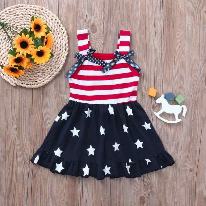 0b8a2c56a92c4 LONSANT Newest Fashion Baby Girls Stars Striped Print Dres+Headband ...