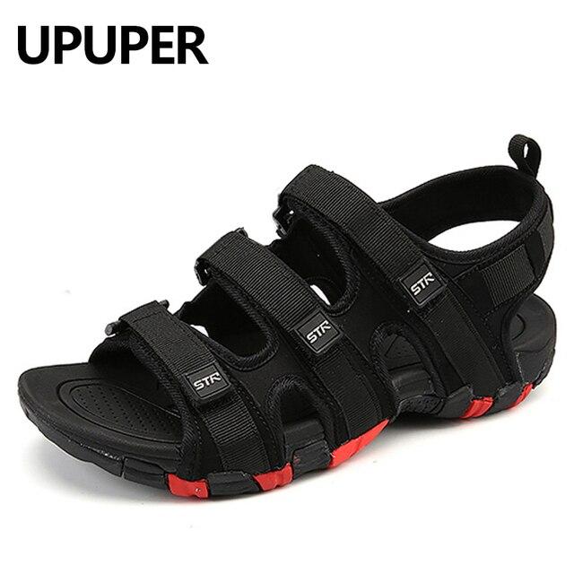 Summer Men Sandals Hook Amp Loop Men S Summer Shoes 2018