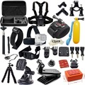Gopro Accessories Set For Go pro Hero 4 Session 3 Sjcam SJ4000 SJ5000x Xiaomi yi 2 4k Action Camera Eken H9R Gitup 2 With Case