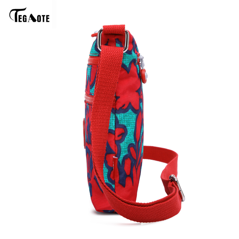TEGAOTE Famous Brand Cartoon Nylon Bag Casual Messenger Bags Monkey Female Shoulder Handbag Waterproof  Beach Bag Sac A Main