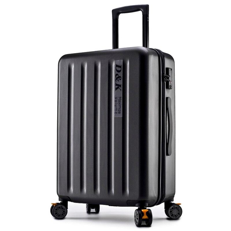 Checked Aluminum Frame PC Suitcase valiz Trolley Luggage TSA Lock Koffer Mala de viagem Spinner Wheel Suitcase ABS Valise Cabine 20 24 26 29 aluminum alloy trolley carry on luggage fashion travel cabine tsa lock koffer mala de viagem sliding suitcase
