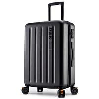 Checked Aluminum Frame PC Suitcase valiz Trolley Luggage TSA Lock Koffer Mala de viagem Spinner Wheel Suitcase ABS Valise Cabine