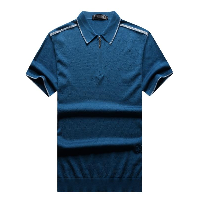 T shirt hommes 2017 lancement été mode confort souffle matériel couleur unie brodé lettre mâle vêtements livraison gratuite-in T-shirts from Vêtements homme    2