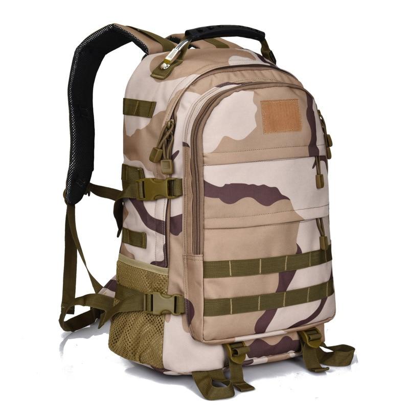 Sac à dos de randonnée plein air Tactique Militaire Sacs Camping sacs à dos Armée Système Molle Sac D'assaut