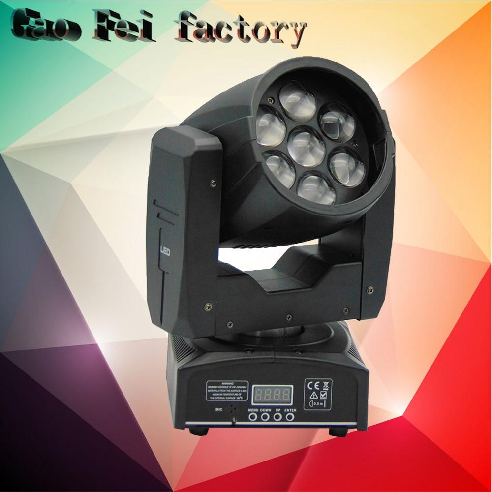 Zoom LED Moving Head Wash Beam Effect 7*12W RGBW quad color LED Stage DJ LightingZoom LED Moving Head Wash Beam Effect 7*12W RGBW quad color LED Stage DJ Lighting