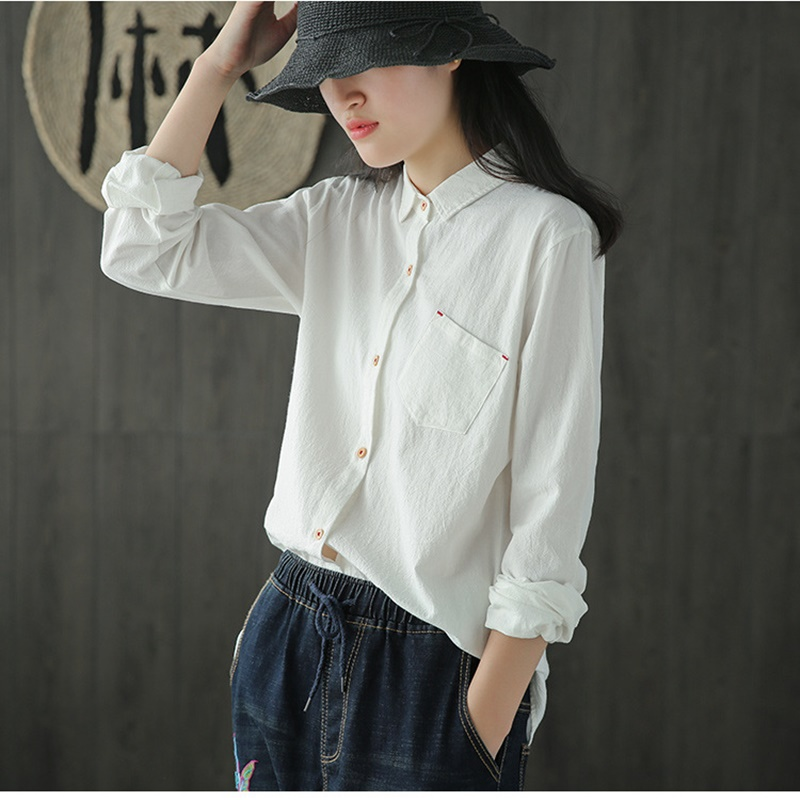 Women Tops Summer 2019 Oriental Blouse Spring Chinese Style Shirt Peasant Womens Tops And Blouses Japanese Streetwear Dd1903 Women's Clothing