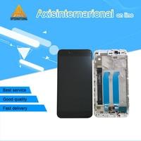 Original Axisinternational For Xiaomi Mi 5X Mi5X M5X A1 LCD screen display+touch digitizer with frame white/Black for MI 5X MIA1
