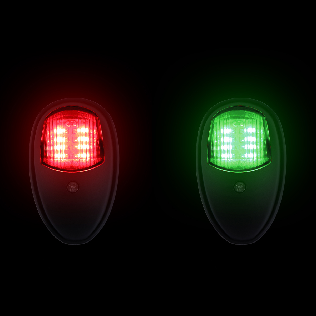hight resolution of 1 pair of navigation lights green and red color red for port side and green for starboard side it can be use as bow light stern light or running light