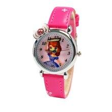 Los niños Miran Los Relojes de Moda Reloj de Pulsera Impermeable de Los Niños niños niñas Estudiantes de Pulsera de Cuarzo Z-0035