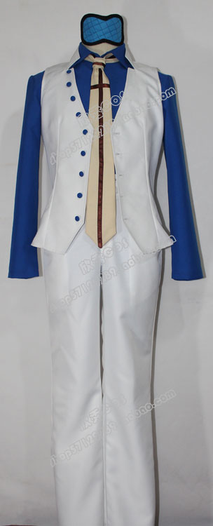 2016 One Piece Navy Admiral Aokiji Kuzan Blue Pheasant Cosplay Costume