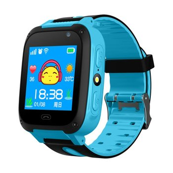 1.44″ Color Screen Anti-lost Children Smart Watch LBS Tracker SOS Call Remote Camera Wristwatch Phone with LED Children Watches