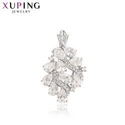 Xuping Fashion elegancki naszyjnik wyrażający Temperament wisiorek dla kobiet biżuteria prezenty na ślub zaręczynowy 33210