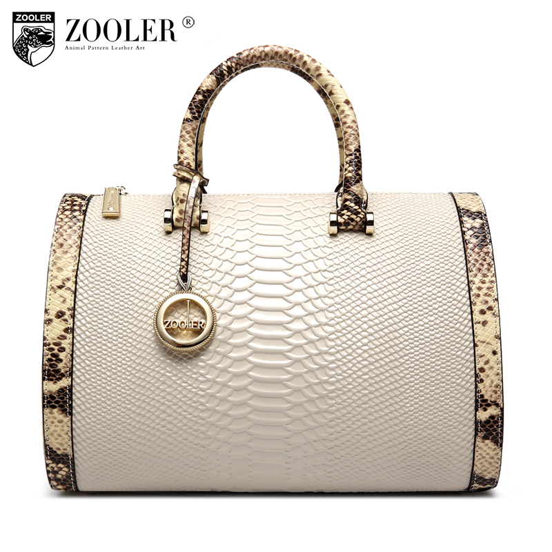 ZOOLER High quality leather bag for women cowhide leather handbags famous brands Top-Handle Bag Boston shoulder crossbody bag150 chispaulo women genuine leather handbags cowhide patent famous brands designer handbags high quality tote bag bolsa tassel c165