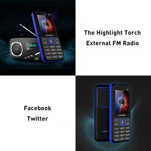 Image 4 - LEAGOO B23 תכונה נייד טלפון בכיר ילדים מיני טלפון רוסית מקלדת 2G GSM לדחוף כפתור מפתח נייד