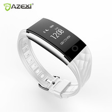 Azexi Bluetooth 4.0 Смарт-часы Фитнес heartrate Мониторы браслет для IOS Android