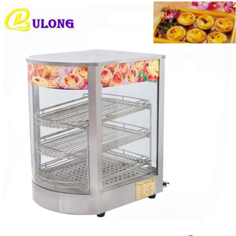 Mini Commercial Display Cabinet Electric Countertop Hot Dog Egg Tart Bread Display Showcase Food Warmer high quality hot dog display showcase food warmer stainless steel bread sandwich countertop tool