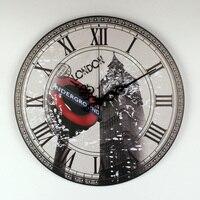 London Big Ben Large Decorative Wall Clock Modern Design More Silent Vintage Home Decor Wall Watch Roman Number