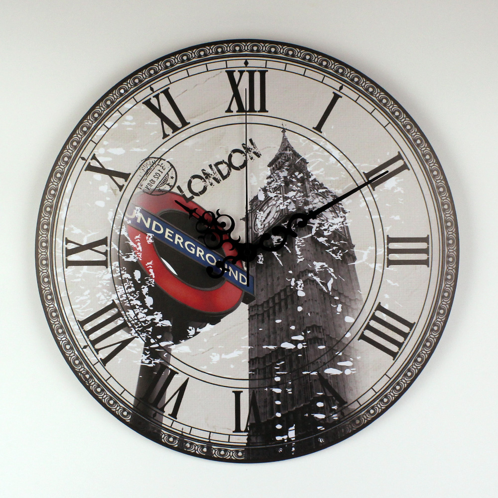 London Big Ben Large Decorative Wall Clock Modern Design More Silent Vintage Home Decor Wall Watch Roman Number