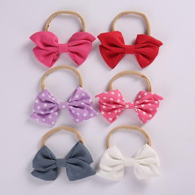 10 CM Sailor bow Nylon headband  349572be701