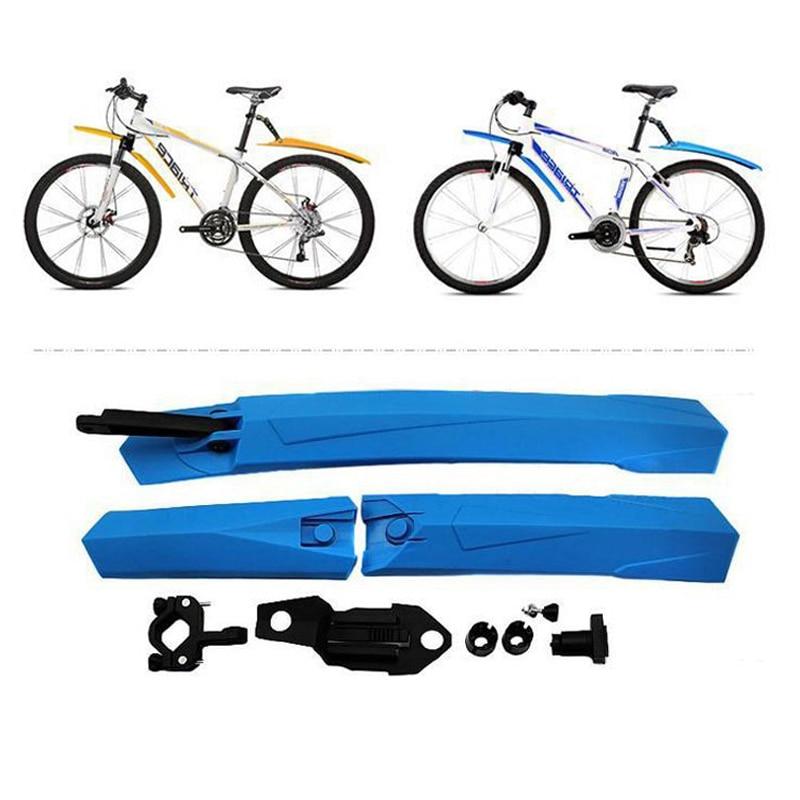 6 Color Mountain Mtb Bike Mudguard Front Rear Quick Release