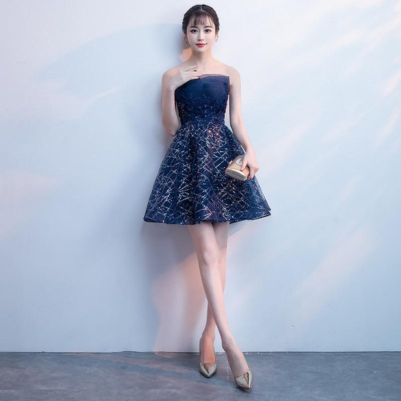 Star   Dress   Party   Bridesmaid's     Dresses   2019 Long Formal Wedding Party Prom Reflective   Dresses   robe de soiree vestido de noiva