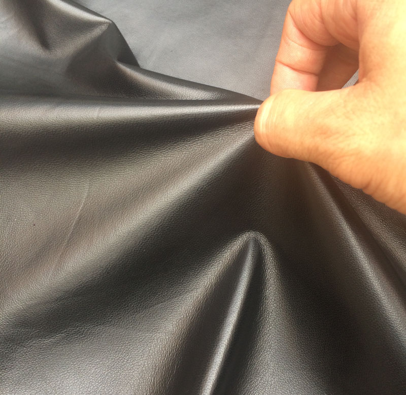 soft genuine Sheep grain leather raw material for clothes sale by whole piece