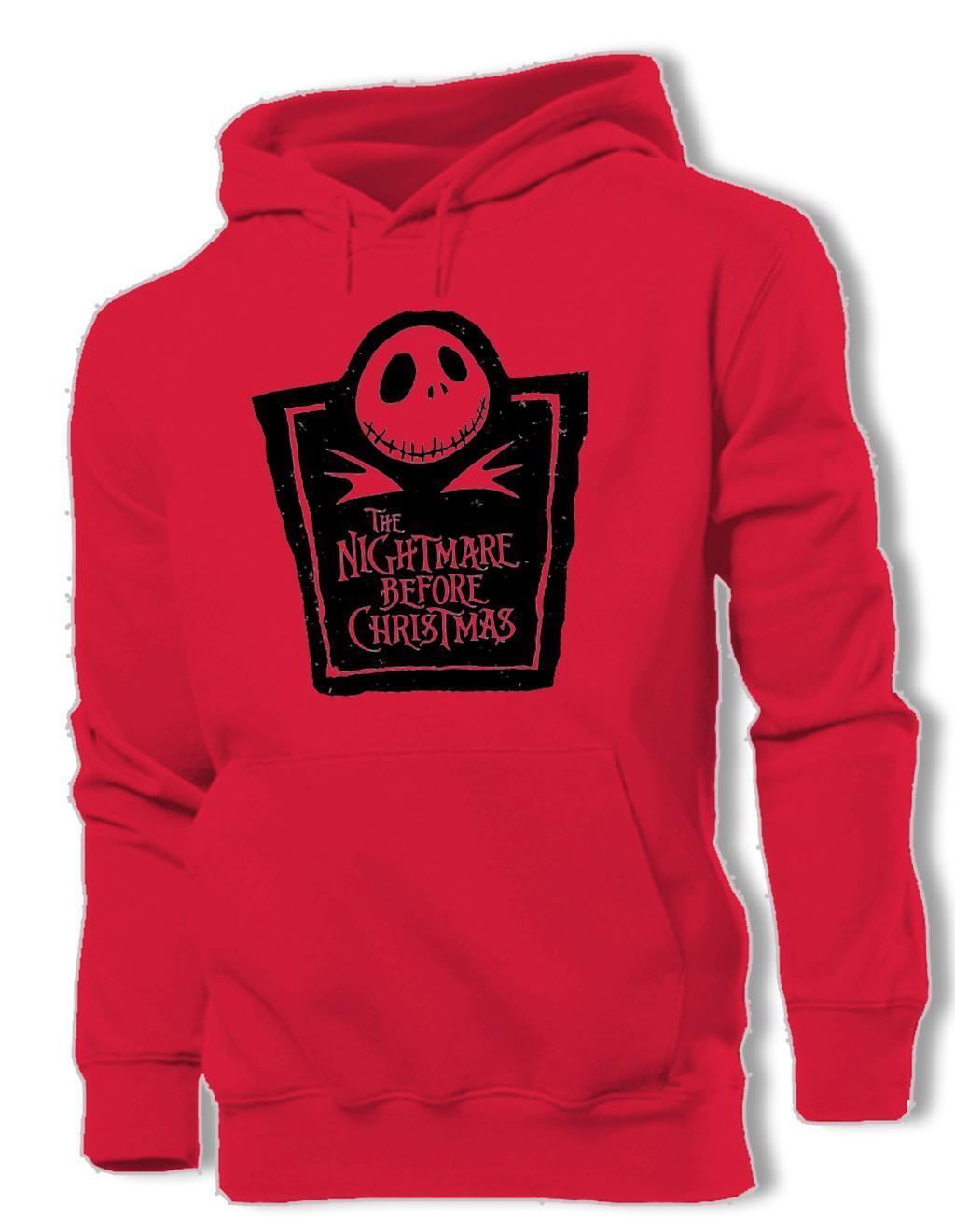 Jack Skellington The Nightmare Before Christmas Graphic Hoodie Men\'s ...