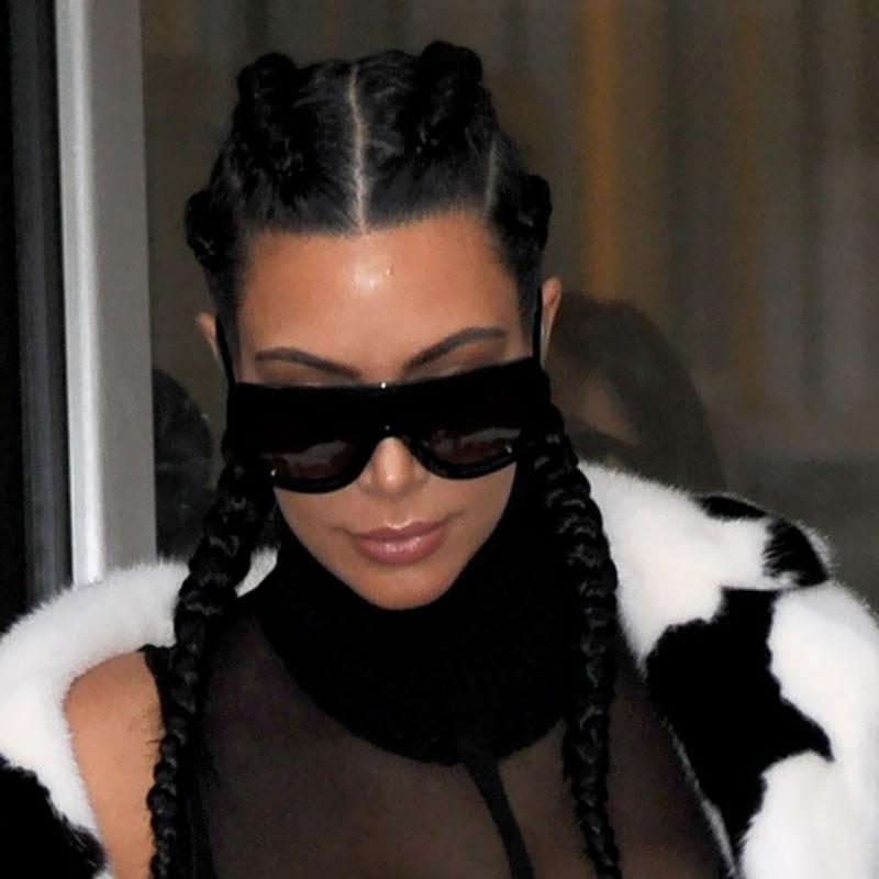 Kim Kardashian Big Sunglasses  online get kim kardashian sunglasses aliexpress com