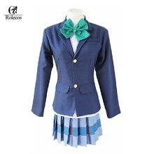 Anime amor vivo Kotori Nozomi Maki Honoka Nico Hanayo Rin Umi amor vivo  Cosplay traje uniforme f41df7633760