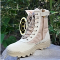 2016 Hot Sale Brand New Men Tactical Military boots autumn and winter desert boots skid outdoor shoes B161