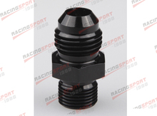 Male 8AN 8 An Flare to M14x1.5(mm) Metric straight fitting AD41029N