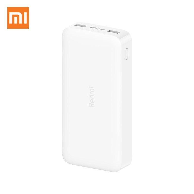 Xiaomi Redmi note banco de potencia 20000mAh PB200LZM QC3.0 USB tipo C de carga portátil Mi Powerbank 20000 batería externa Poverbank