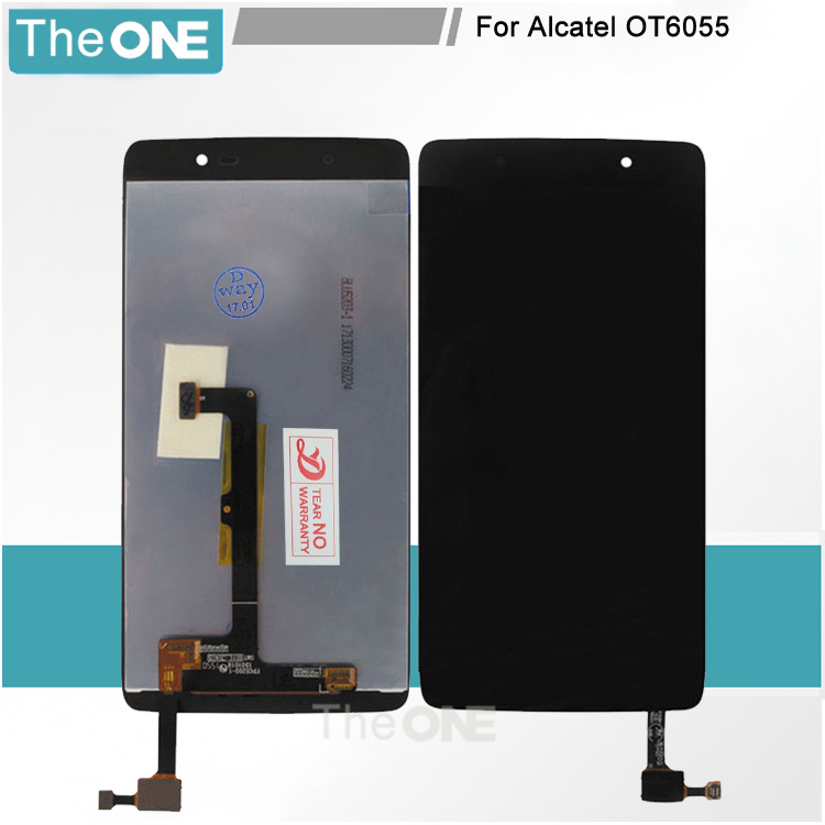 For Alcatel One Touch Idol 4 LTE 6055 6055P 6055Y 6055B 6055K 6055H LTE LCD Display With Touch Screen Digitizer Assembly Parts