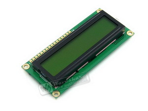 LCD 1602 (3.3V Yellow Backlight) # High Definition LCD1602 Display Yellow Backlight Character LCD