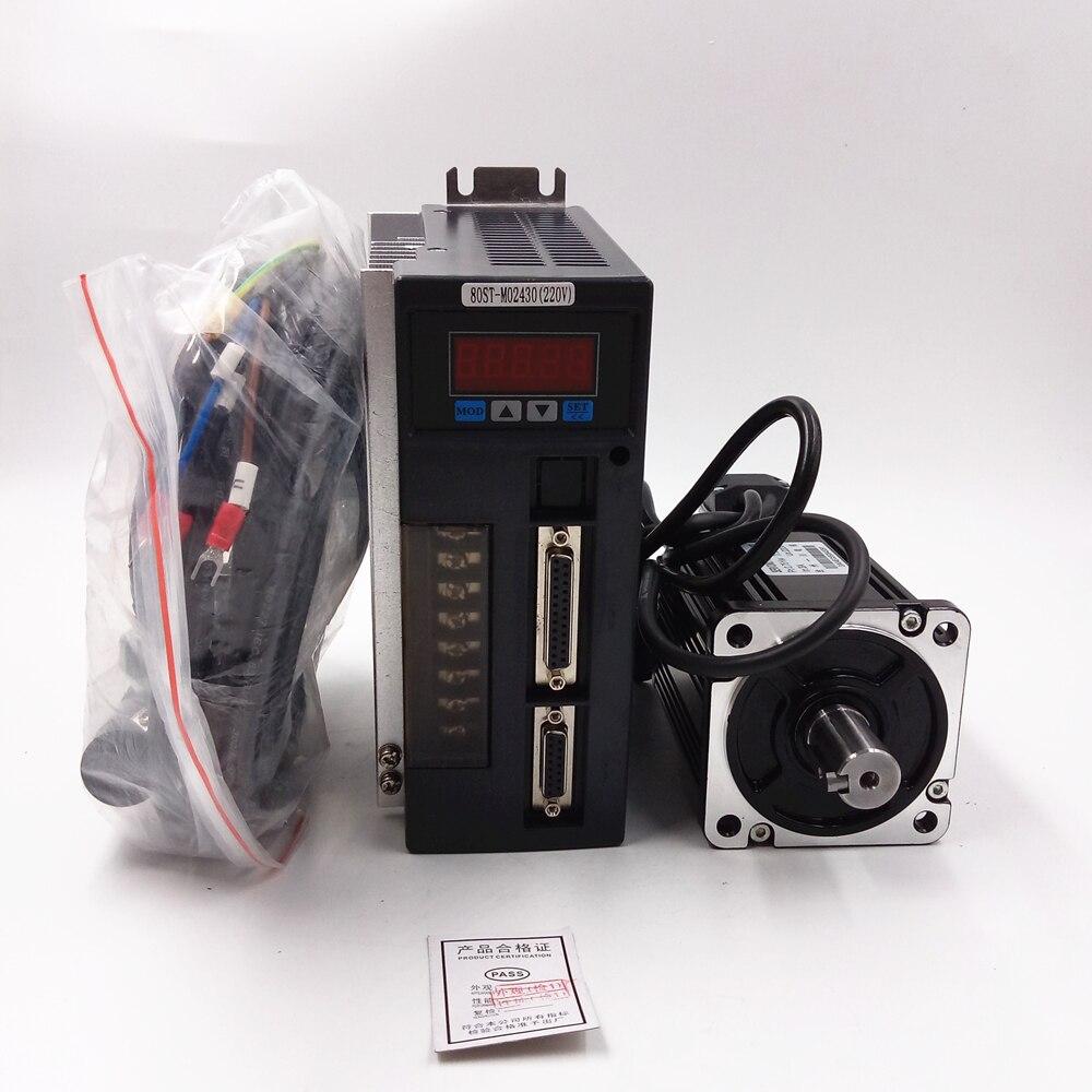 AC Servo Drive Motor 750W 2 39NM 220V 3000R Min NEMA32 Material Conveying New 1