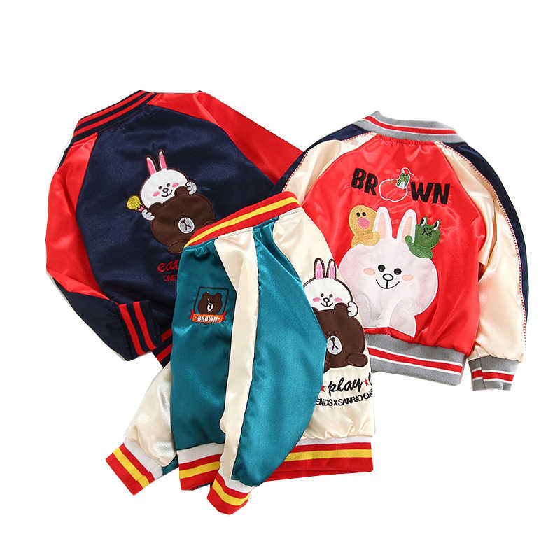 מעיל רוח לילדים פעוט מפציץ צבעוני מעיל אביב מעיל עבור בני בנות ילדי ילד נשי מעיל