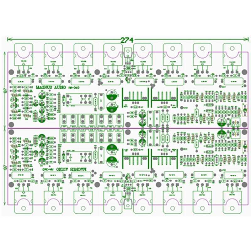 MA360 fever grade hifi двухканальный усилитель высокой мощности плата hifi-end Американский пользовательский высококачественный 2,0 плата одноканального усилителя