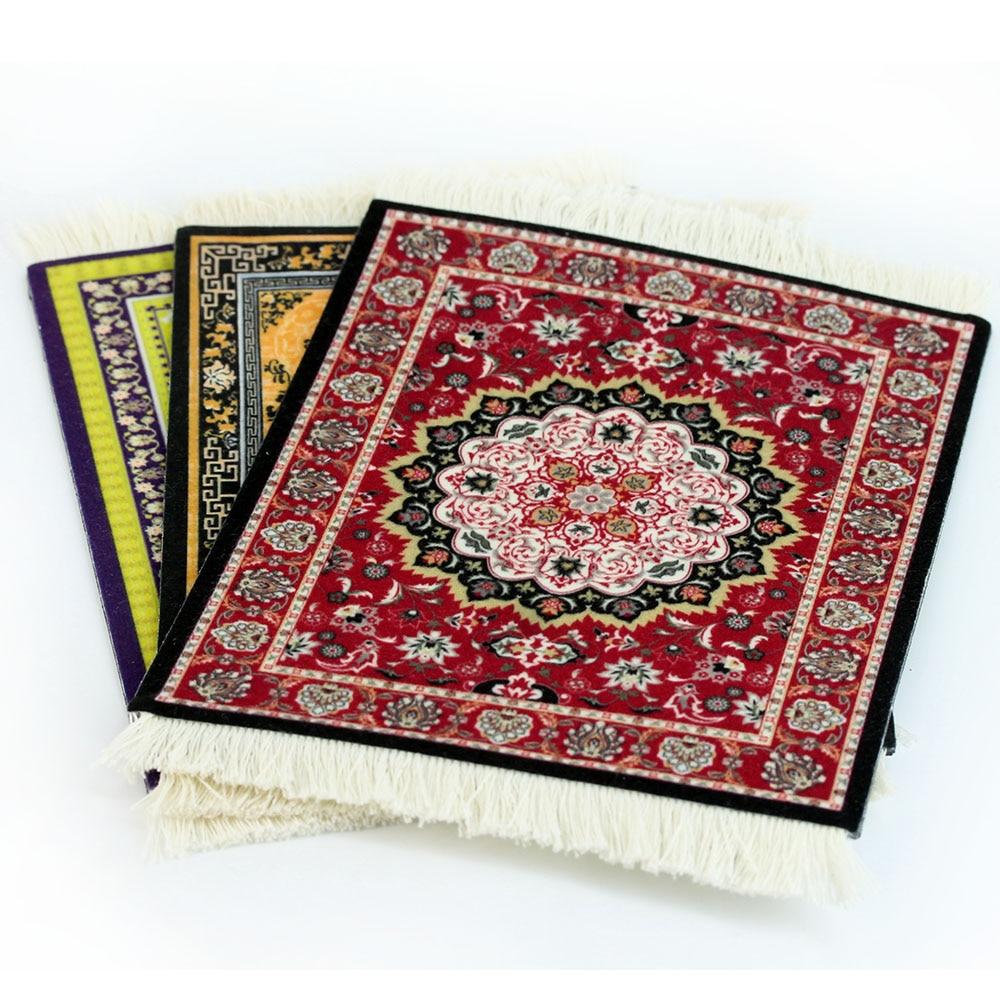 Gaming Mouse Pad Persian Carpet Style Rubber Anti Slip Rug Mousepad Computer Mat