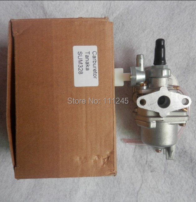 CARBURETOR AY FLOAT TYPE  FITS TANAKA SUM328 2 STROKE ENGINE FREE SHIPPING BG328 CARB CARBURETTOR CARBY BRUSHCUTTER PARTS carburetor for zenoah g620pu rc g561 g651 g621 g662 6500 62cc 58cc 62 65 chainsaw carburettor carby carb repl walbro hda246