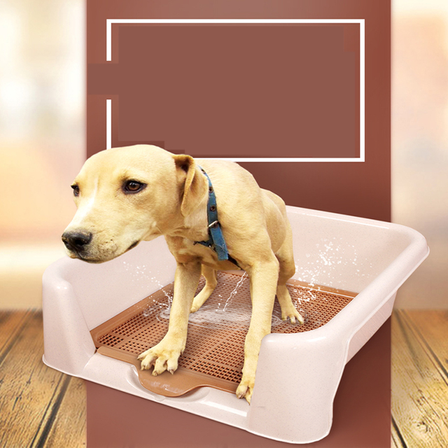 Puppy Pets Dog Grooming Cleaning Set dogs Puppies Toilet Trainer Training Box Chiens Ramasse Merde Small Corner Toilets 80Z1863