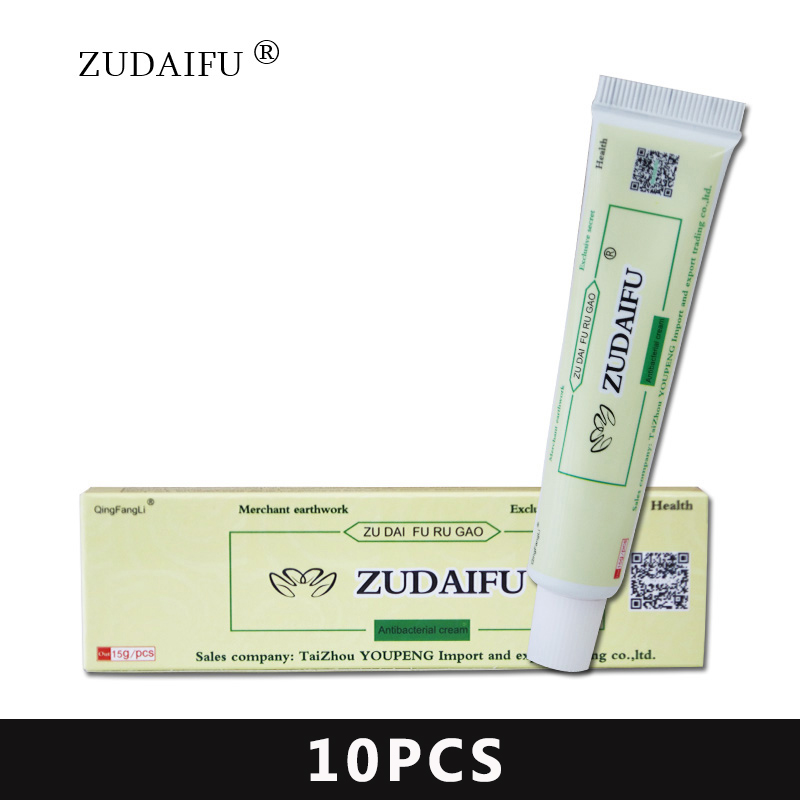 10pcs zudaifu body cream without retail box men women skin care product relieve Psoriasis Dermatitis Eczema US shipment image
