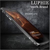 Luksusowe Marki Luphie Aluminiowa Rama Metalowa Bumper Do Apple iPhone 6 6 S 4.7 CAL Nowy Produkt Ultra Cienki Blade Miecz Serii PRZYPADKÓW